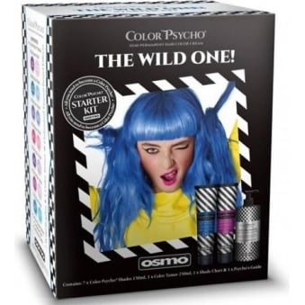 Osmo Color Psycho Semi Permanent Hair Color Cream Kit