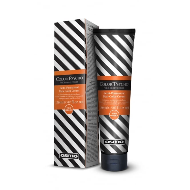 Osmo Colour Psycho Wild Orange 150ml Semi Permanent Bright Colour Cream