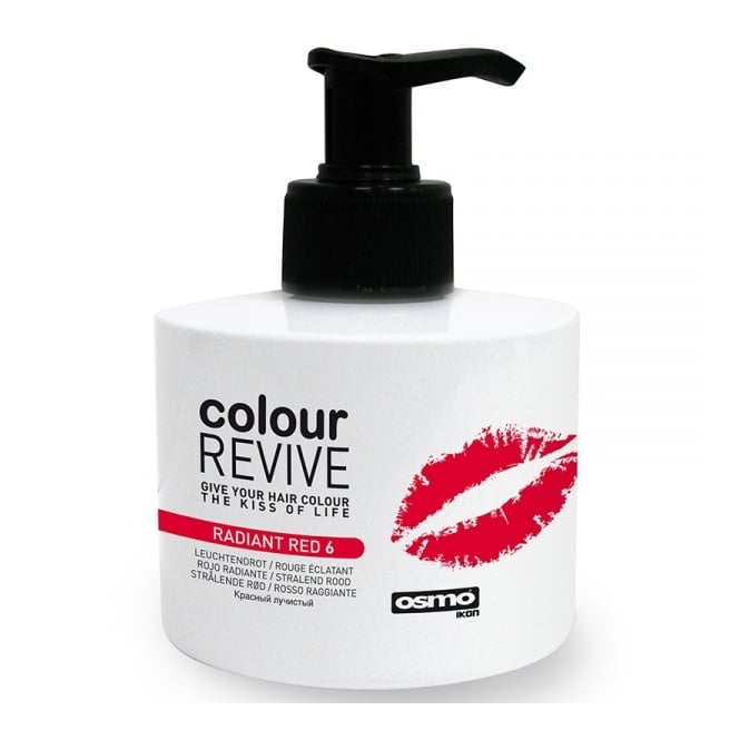 Osmo Colour Revive Conditioning Colour Treatment Radiant Red 6 - 225ml