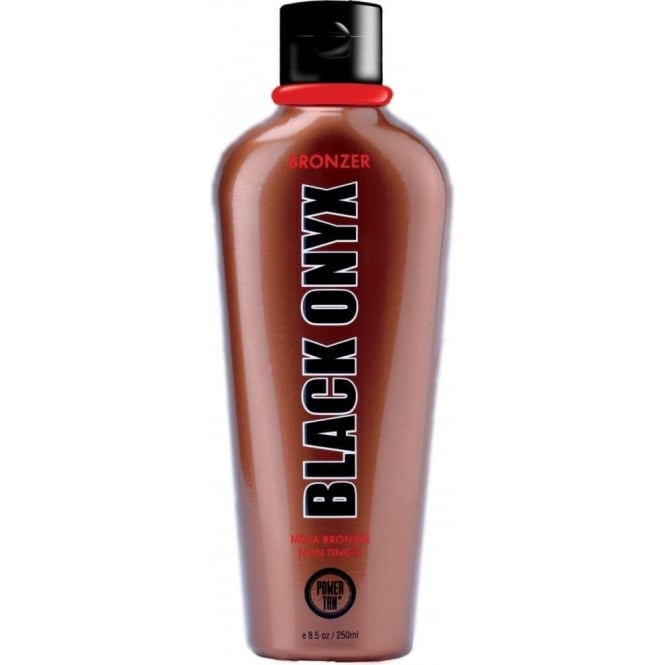 Power Tan Black Onyx Mega Bronzer Non Tingle 250ml