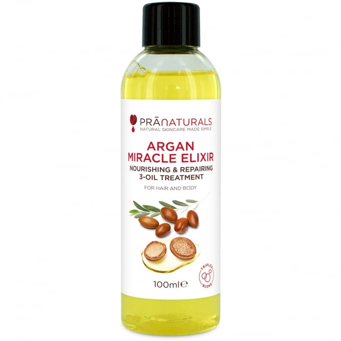 PraNaturals Argan Oil Miracle Elixir - 100ml