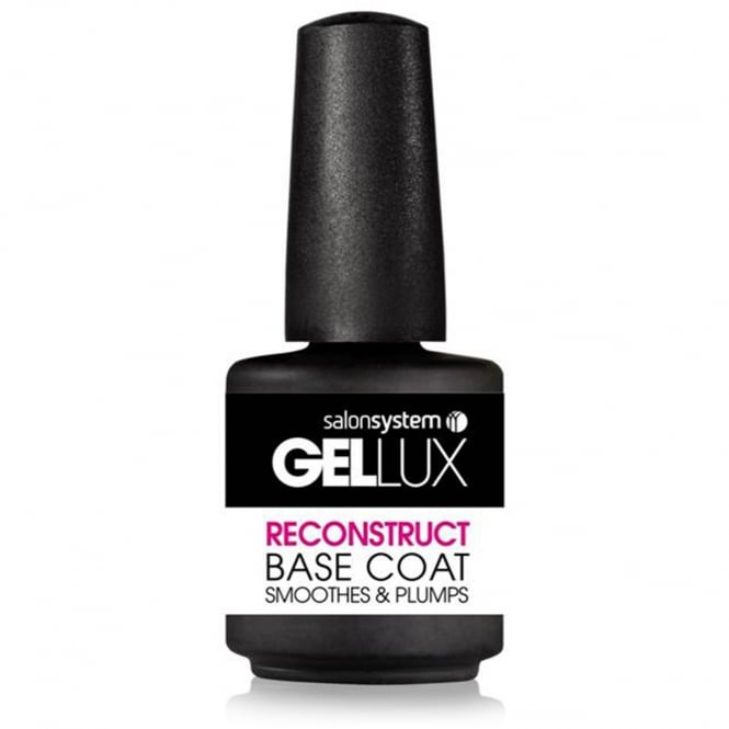 Salon System Gellux Gel Nail Reconstruct Base Coat 15ml