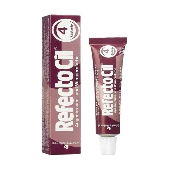 Refectocil Chestnut 4 Eyelash & Eyebrow Tint15ml