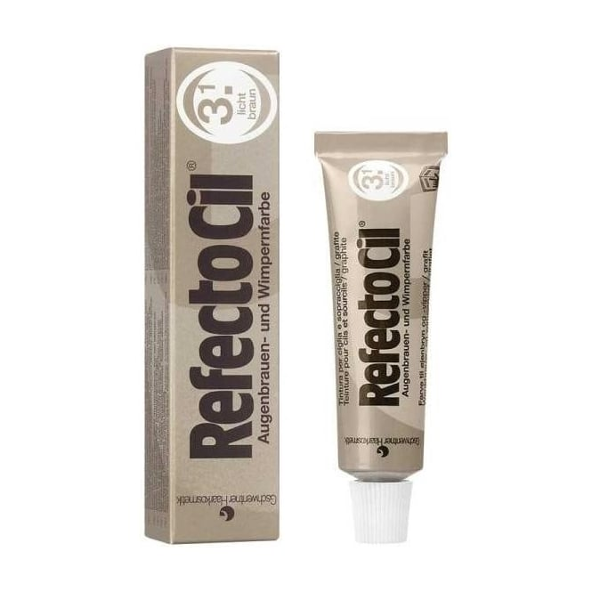 Refectocil Refectoci 3.1l Light Brown Eyelash & Eyebrow Tint15ml