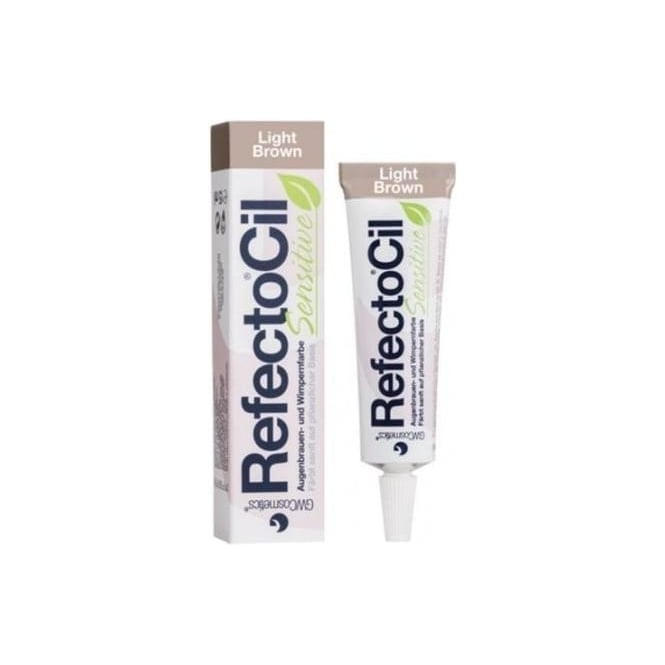 Refectocil Sensitive Eyelash Lash & Eyebrow Brow Tint Light Brown 15ml