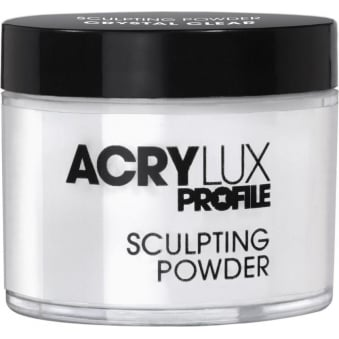 Salon System Acrylux Sculpting Powder Crystal Clear 45g Acrylic Nail Extensions