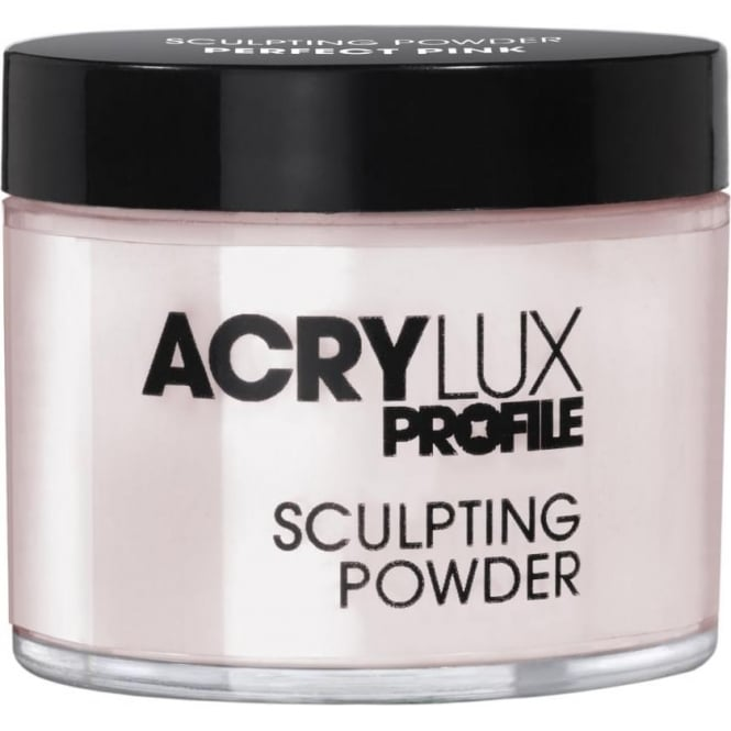 Salon System Acrylux Sculpting Powder Perfect Pink 45g Acrylic Nail Extensions