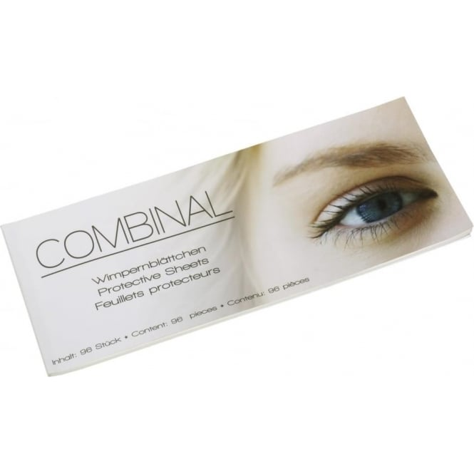 Combinal Salon System Eye Protective Sheets Book of 96 Lash & Brow Tint Tools