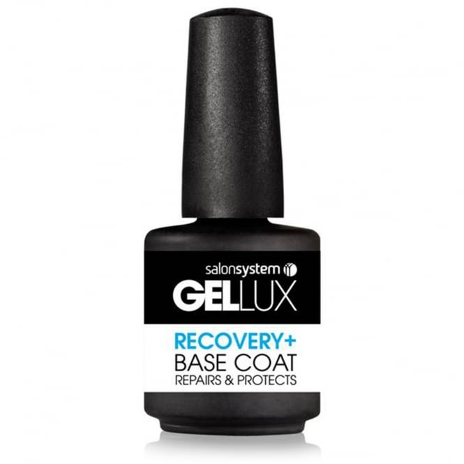 Salon System Gellux Gel Nail Recovery + Base Coat, 15ml