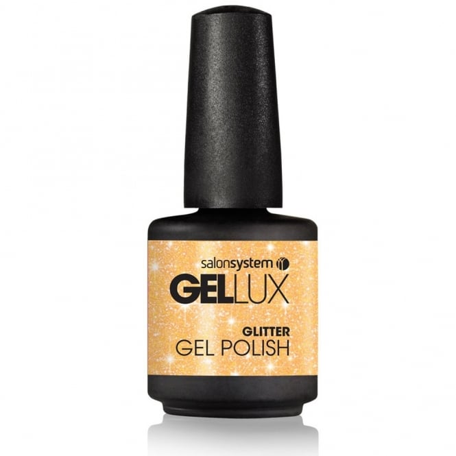 Salon System Gellux Gel Polish - Glitz & Glam: All That Glitters 15ml