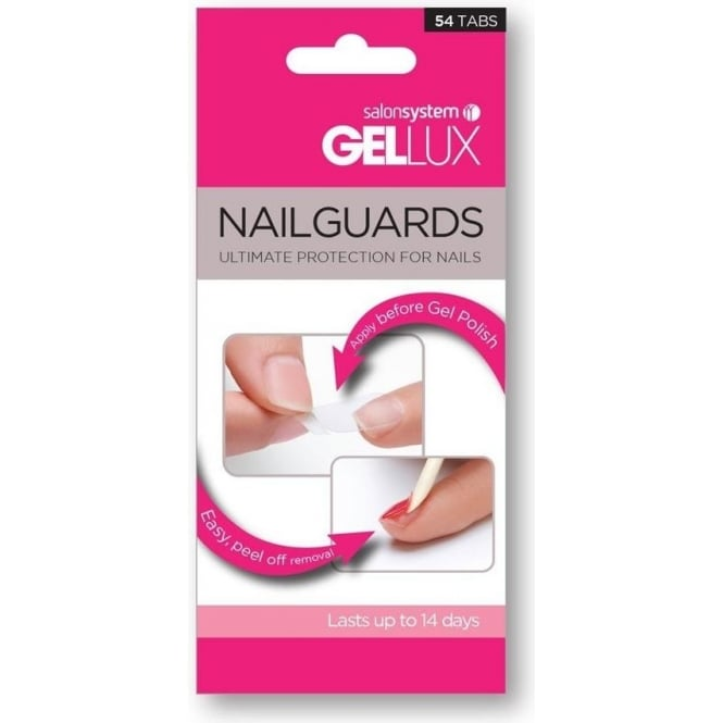 Salon System Gellux Nailguards Trial Pack 54 Tabs