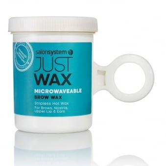 Salon System Just Wax Microwaveable Brow Wax