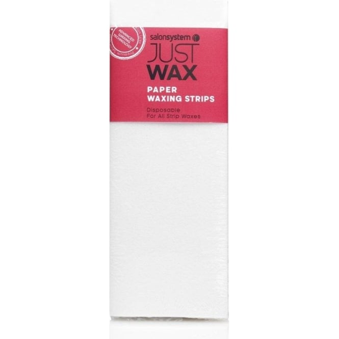 Salon System Just Wax Paper Waxing Strips 100pcs