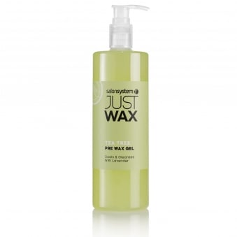Salon System Just Wax Pre Wax Tea Tree gel 500ml