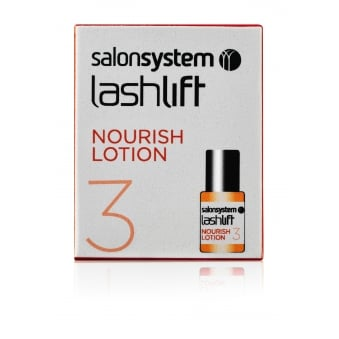 Salon System Lashperm Nourishing Lotion 4ml Conditions & Protects Permed Lashes