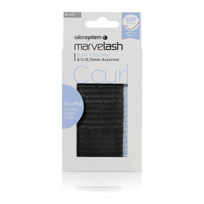 Salon System Marvelash C Curl 0.20 Volume (Ellipse)