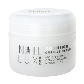 Salon System NailLux Condition Cuticle Cream 50ml Vitamins Moisturise Condition