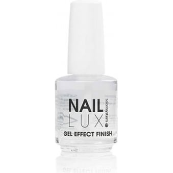 Salon System Naillux - Gel Effect Finish 15ml Chip Resistant Ultra Glossy Gel