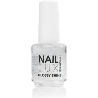 Salon System Naillux - Glossy Shine 15ml Super Shiny Protective Top Coat