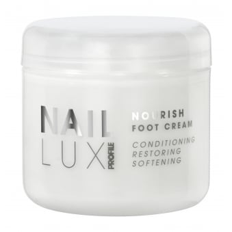 Salon System NailLux Nourish Foot Cream 300ml Exfoliating Granules