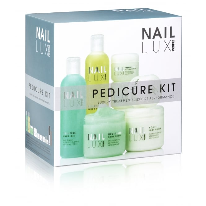 Salon System Naillux Pedicure Kit Professional Luxury Set Home Salon Student