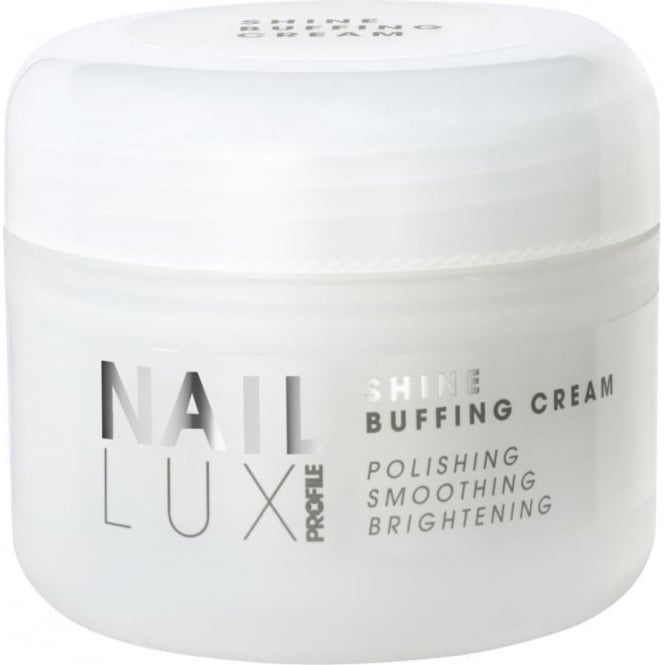 Salon System NailLux Shine Buffing Cream 50ml Micro Crystals Smooth & Polish