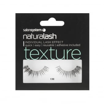 Salon System Naturalash 130 Texture Lash 3D Corner Boost False Eyelash (0225446)