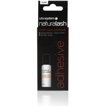 Salon System Naturalash Adhesive 8.5ml Quick Bond Easy Use Clear Contains Latex