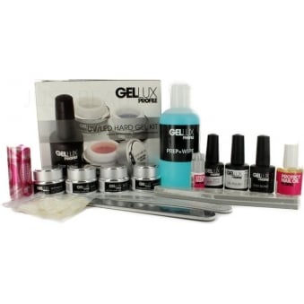 Salon System Profile Gellux UV/LED Hard Gel Builder Kit