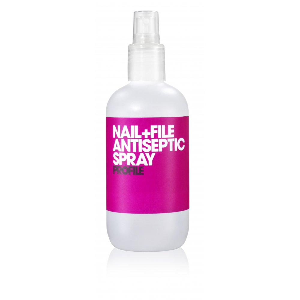 Salon System Profile Nail File Antiseptic Spray 250ml - Nails from ...