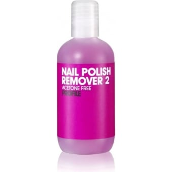 Salon System Profile Nail Polish Remover Acetone Free 125ml
