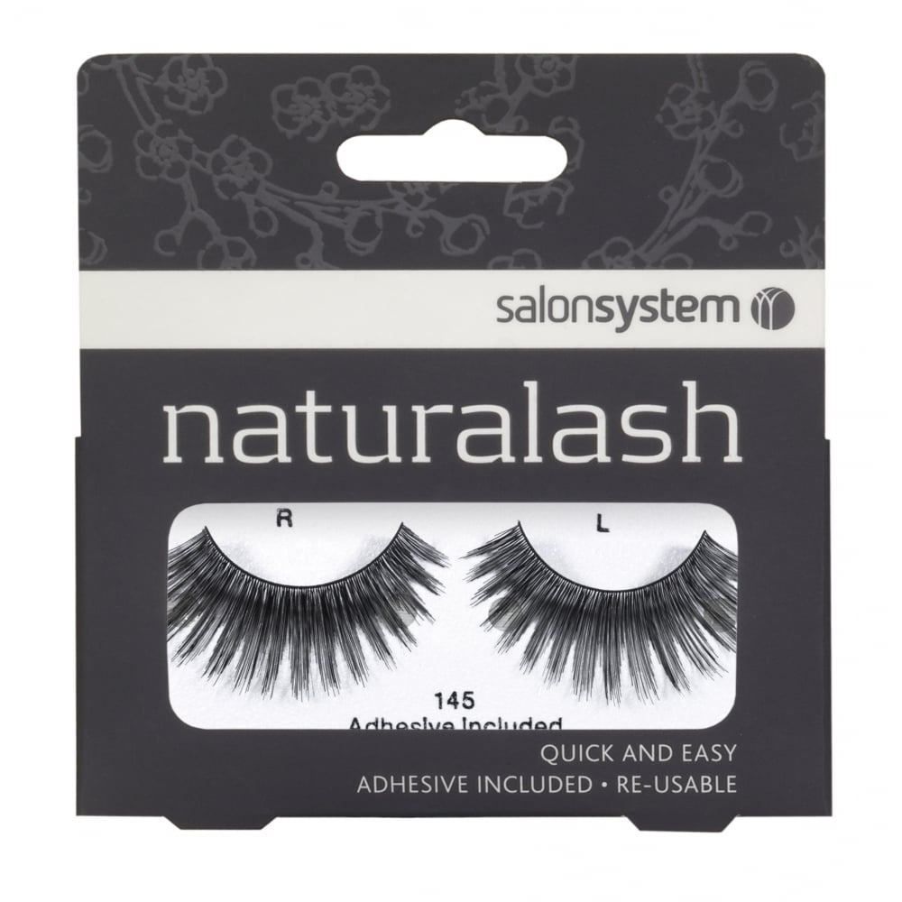 Salon System Re Usable 45 Black Eyelashes Face From Just Beauty Uk