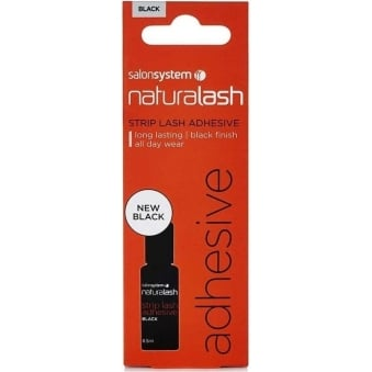 salonsystem Naturalash Black Strip Lash Adhesive - 6ml