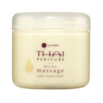 Salon System THAI Pedicure Divine Massage 300ml Lotion Soft Shimmer