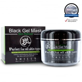 SHILLS Black Gel Mask for All Skin Types 150ml