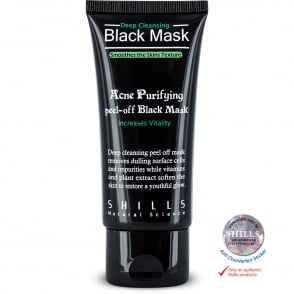 Shills Deep Cleansing Black Peel-Off Face Mask Blackhead Removal 50ml