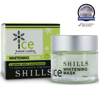 SHILLS Ice Whitening/Brightening Skin Complexion Facial Mask 70ml