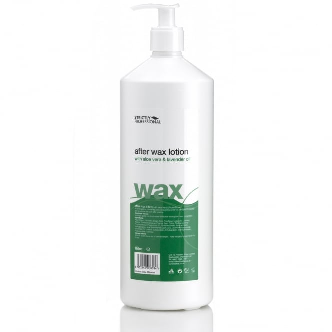 Strictly Professional After Wax Lotion With Aloe Vera 1L
