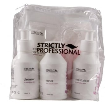 Strictly Professional Facial Care Kit for Sensitive Skin