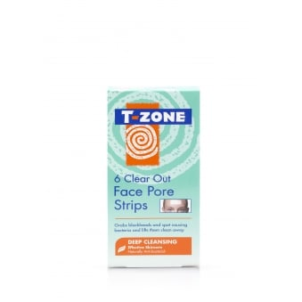 T-Zone Clear Out Face Pore Strips