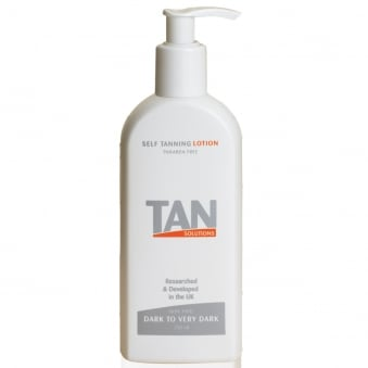 Tan Solutions Self-Tanning Lotion DarkTo Very Dark 250ml