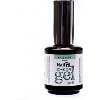 The Edge Pale Mint Gloss Gel Polish 15ml