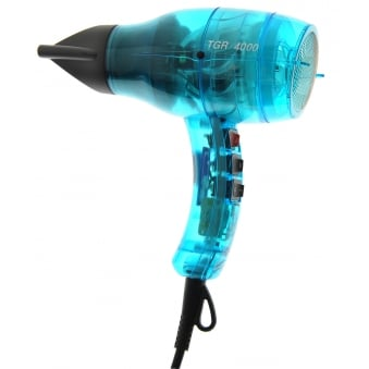 Velecta Paramount TGR 4000 Turquoise Transparent Professional Hairdryer 2000 Watts