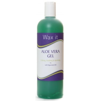 Wax It Aloe Vera gel With Peppermint Oil & Cucumber Extract 500ml