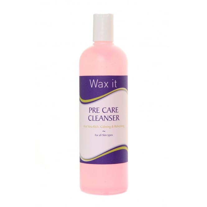 Wax It Pre Care Waxing Cleanser 500ml